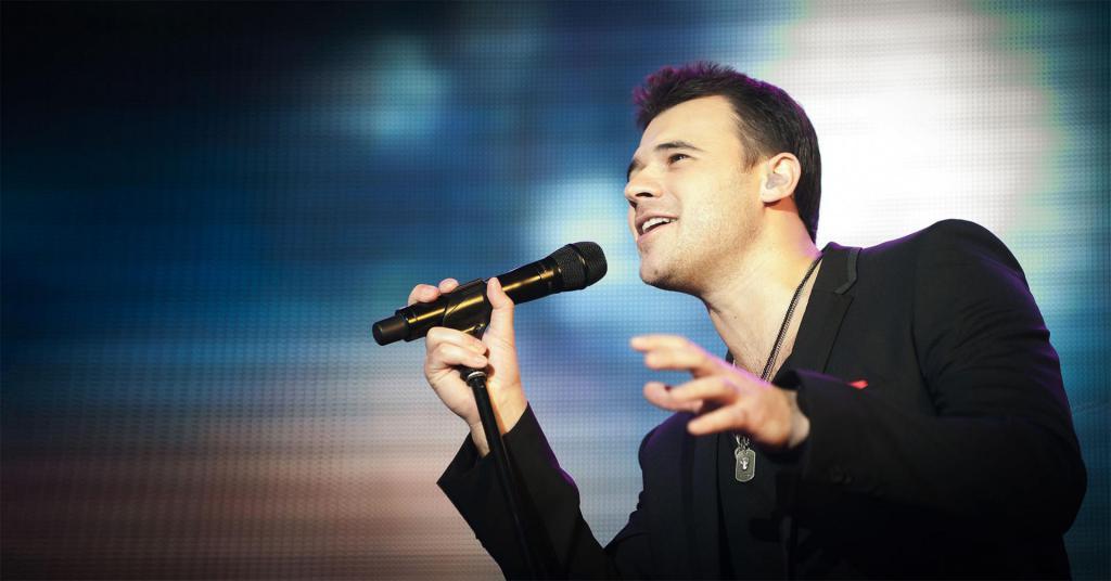 Pevka Emin Agalarov