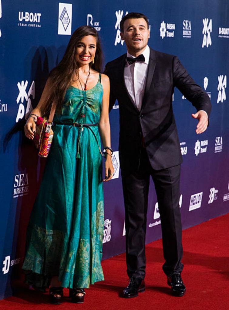 Emin Agalarov in Leyla Aliyeva