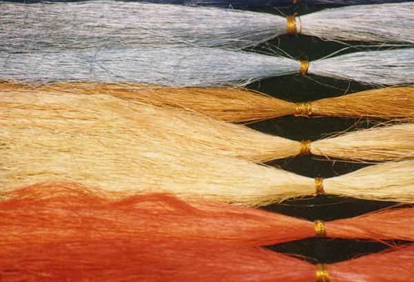 fibre di sisal trattate