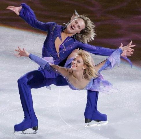 Albena Denkova e Maxim Stavisky stanno aspettando