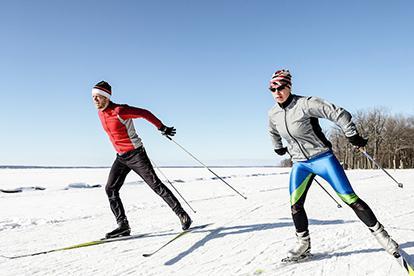 каране на ски техника