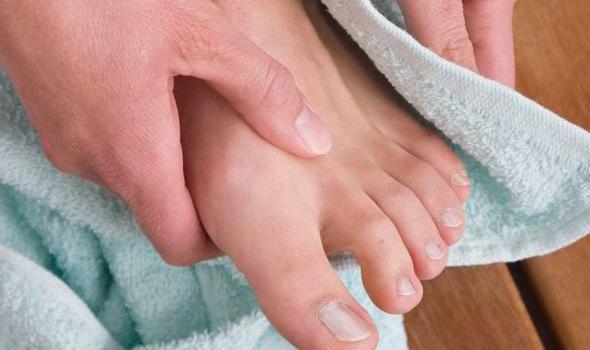 fungo della pelle del piede