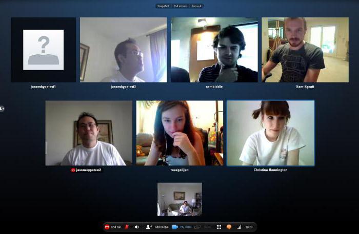conferenza su skype come creare
