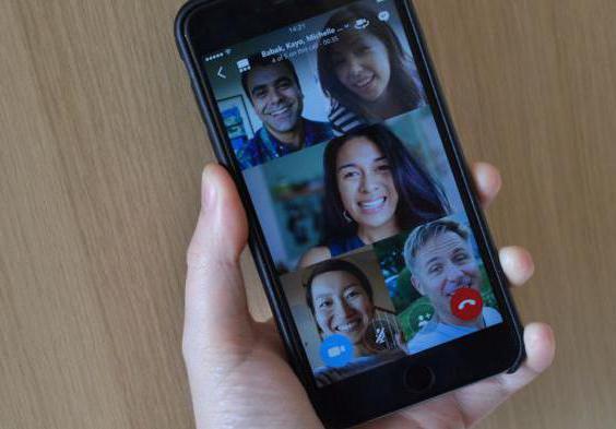 conferenza su skype come fare su iphone