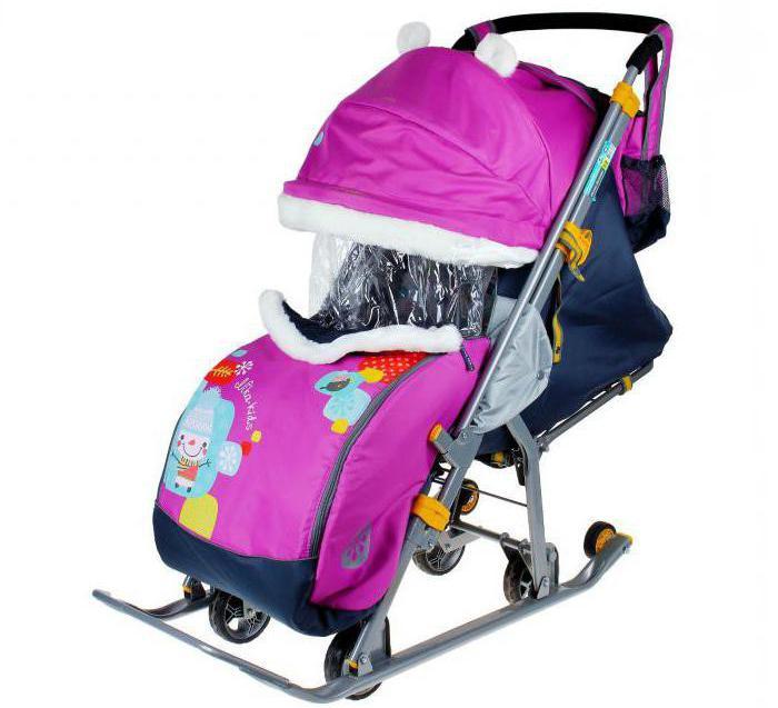 sledge stroller nickname djeca 7 2 fotografije