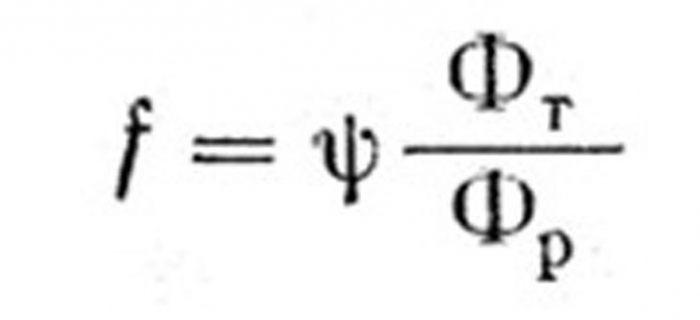 Coefficiente di attrito nel cuscinetto scorrevole
