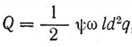 Calcolo di cuscinetti radenti per l'attrito del fluido