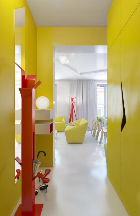 interno di un piccolo corridoio