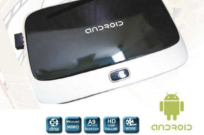 android смарт телевизионна приставка