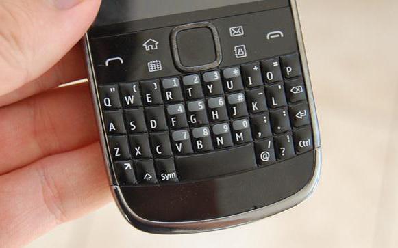 tastiera Nokia E6