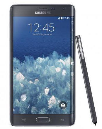 Samsung Galaxy Забележка край смартфон