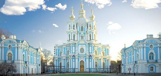 Adresa katedrale Smolny