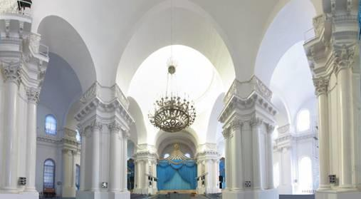 izložbena dvorana katedrale Smolny