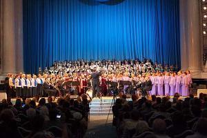 koncertna dvorana katedrale Smolny
