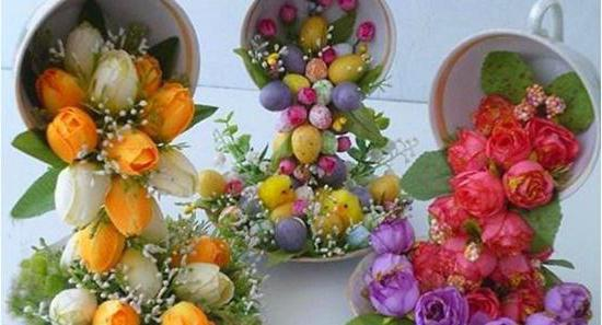 rastuća šalica cvijeća