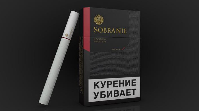 papierosy sobranie czarne