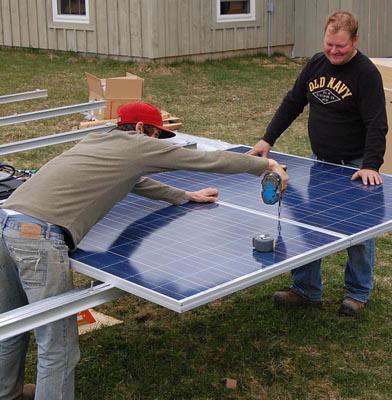 соларне батерије за давање