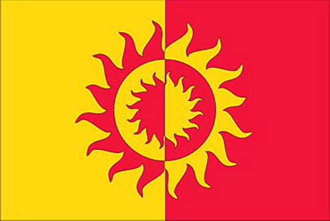 Bandiera del distretto di Solntsevo