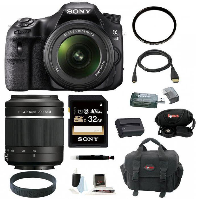 camera sony slt a58