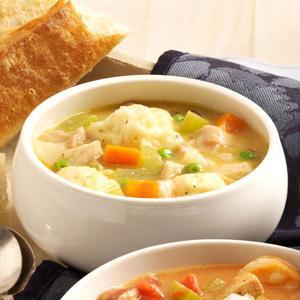 zupa z knedlami