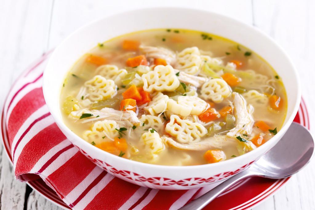 juha iz piščanca in testenin