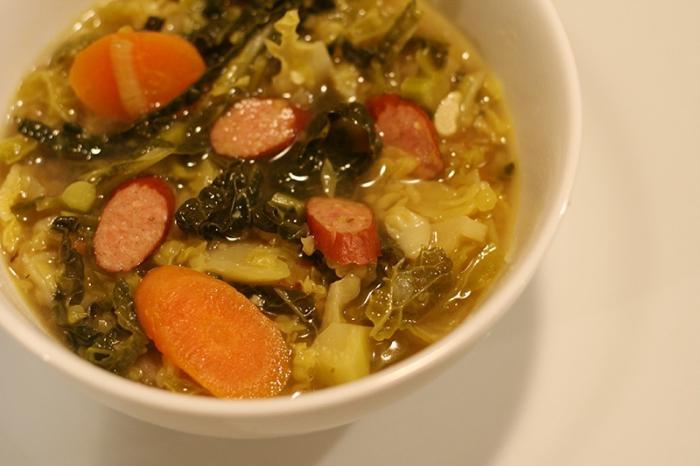 супа от колбаси