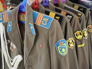 униформа на съветската армия