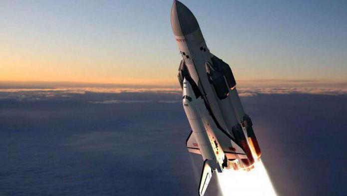 prostor raketového letu