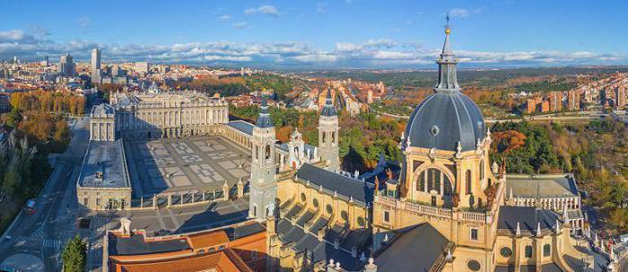 kraljevstvo znamenitosti u Španjolskoj
