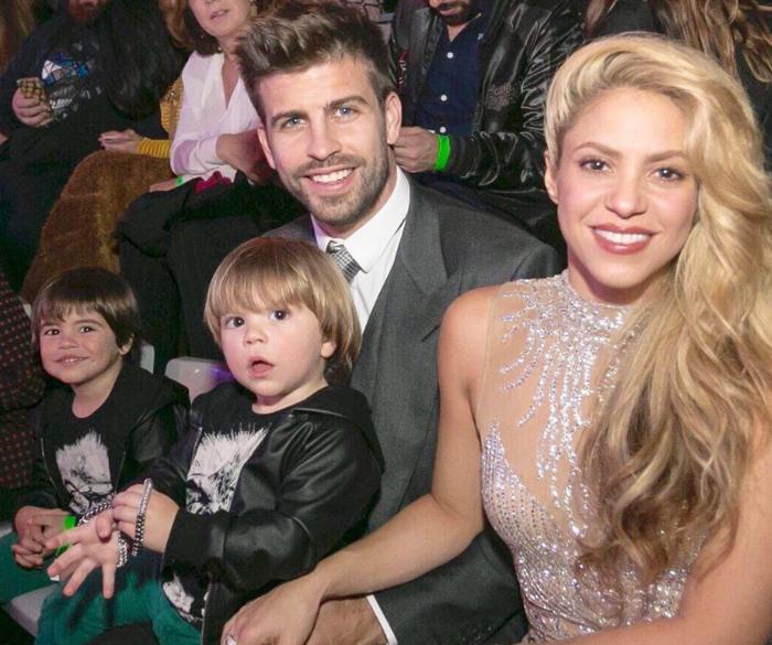 Gierar Piquet i Shakira Wedding