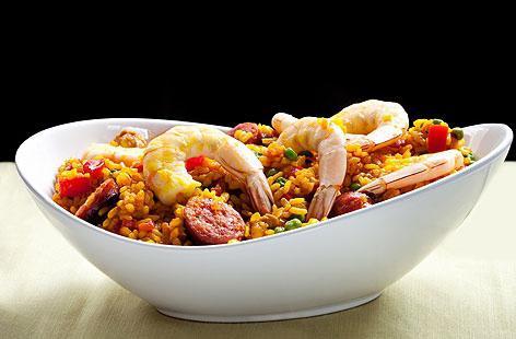 jak vařit paella s mořskými plody
