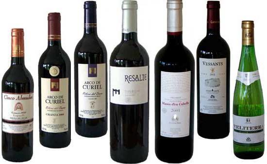 Najlepsze hiszpańskie wina