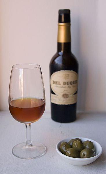 Hiszpańskie wino wzmocnione