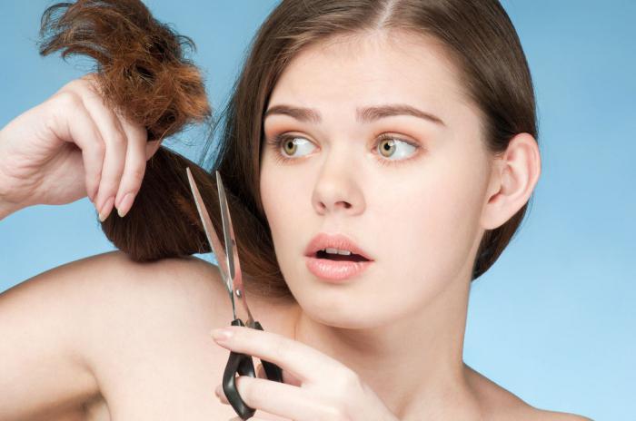 Подељени крајеви косе