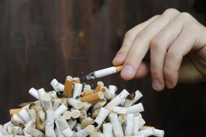 Pušenje nuspojave
