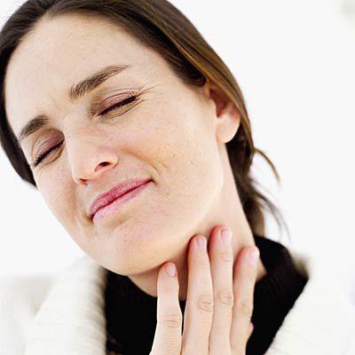 преглед на гърлото спрей