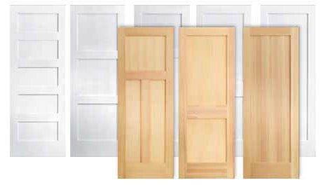 стандартни размери на вратата