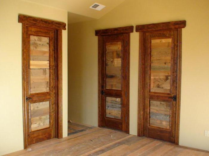стандардне димензије унутрашњих врата врата