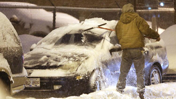 zamrznuti automobil