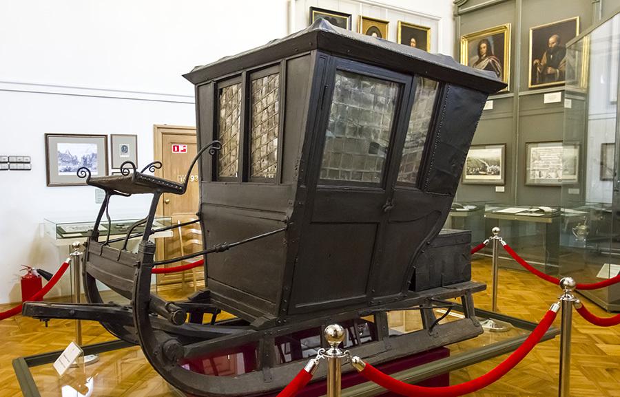 Pietro I nel museo