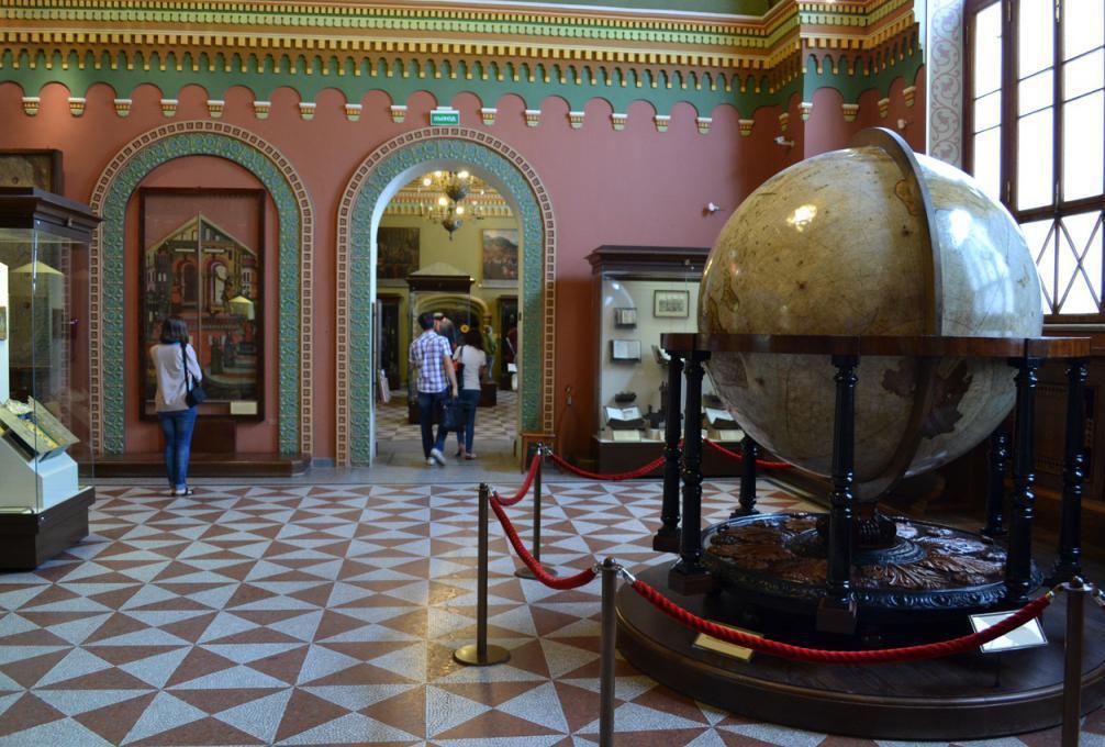 Peter I Copper Globe