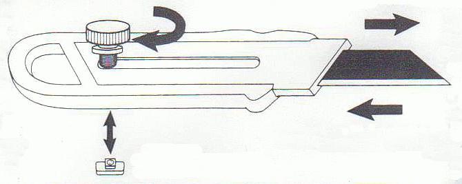 ножеви за канцеларијски нож