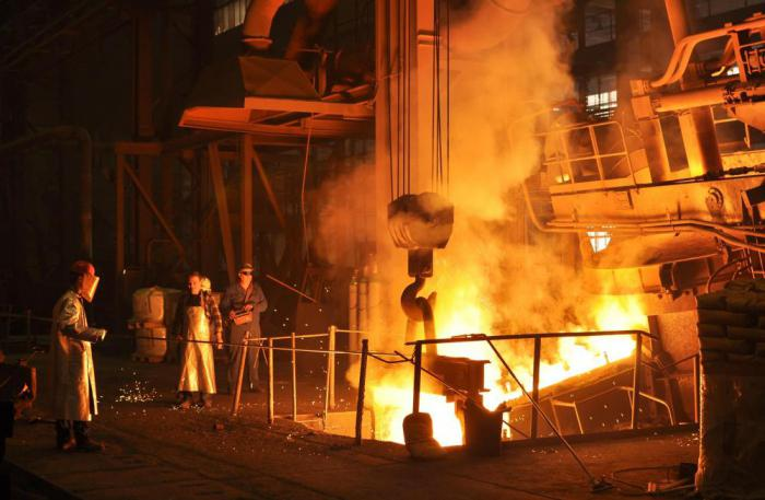produzione di acciaio in Russia