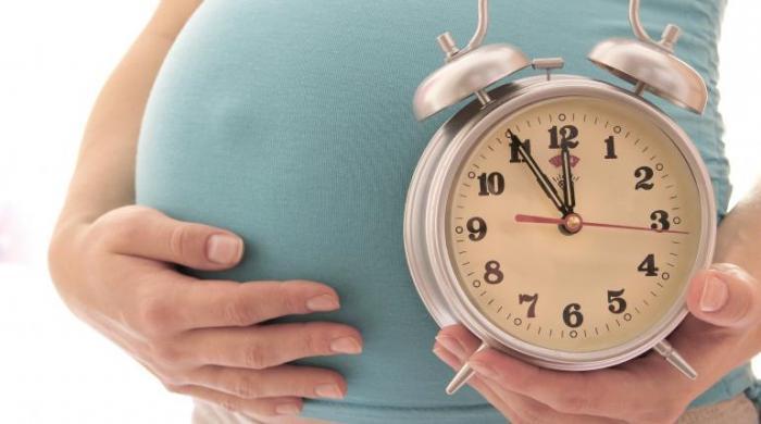 Stimolazione della gravidanza in gravidanza a 41 settimane