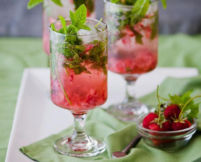 коктейл от ягоди