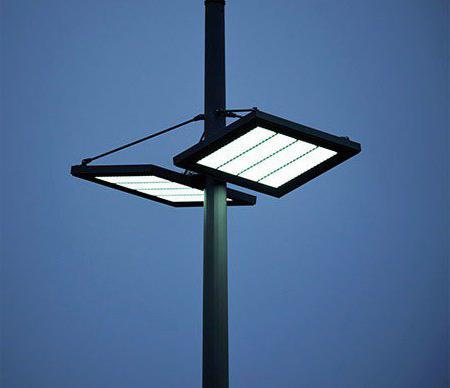 Lampione stradale a LED con sensore di movimento