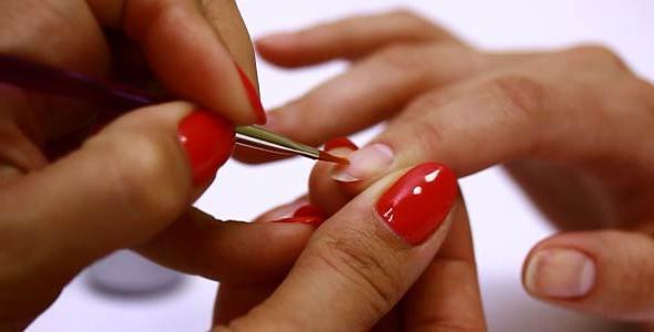 rafforzando il gel per unghie naturale