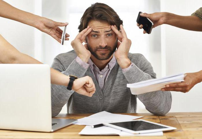 tipi di stress in fase di stress