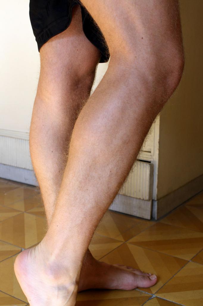nogi łydek