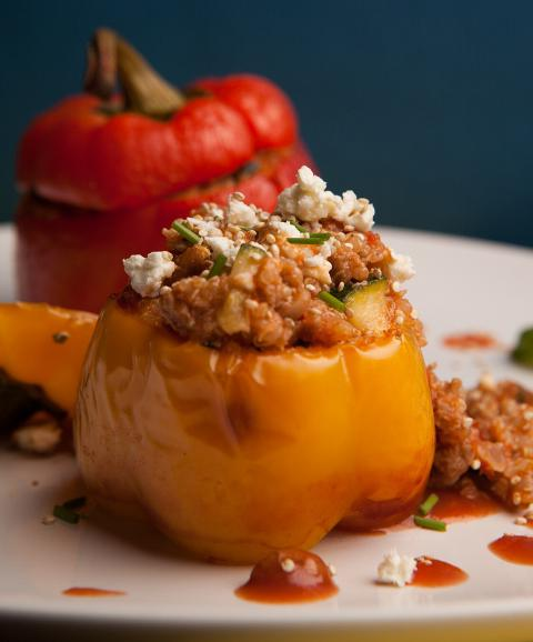 ricetta di peperoni ripieni